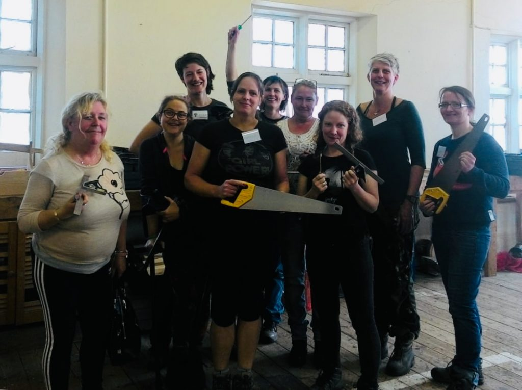Women Build! Please click here to support the project!