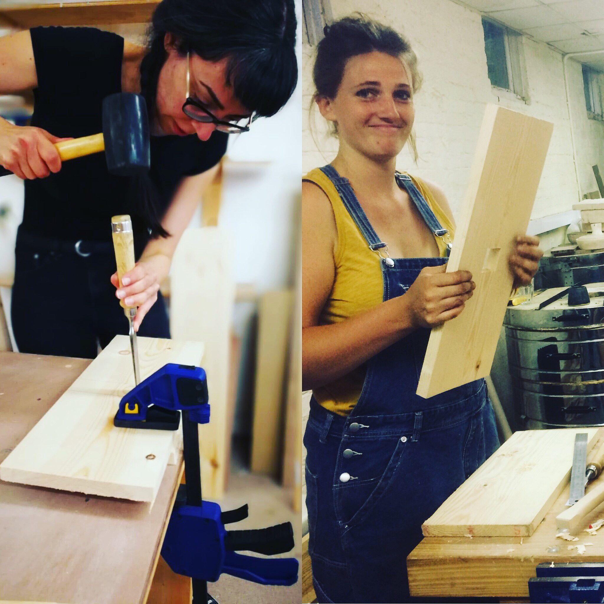 Carpentry for Women Dartington 6 week Course