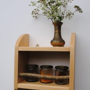 wooden shelf 'Emma'