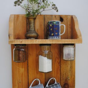 wooden shelf 'Rebecca'